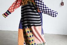 Upcycled Clothing / Reinventing clothes from the thrift store into imaginative new fashion pieces.