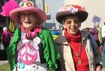 Raging Grannies / Social activism delivering important social, environmental and political messages with some wry humor.