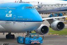 Air France, Transavia & KLM / Hop! Air France, Transavia and KLM aircrafts