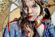 Mosaics / Mosaic artwork, mosaic sculpture