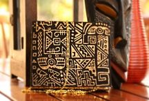 """Urban Funk / Exclusive handmade clutches by """"Niha's"""" inspired by Street Fashion."""