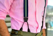 Suspenders for men / Suspenders for men, snappy dressing with nice shirts, sew your own men's braces
