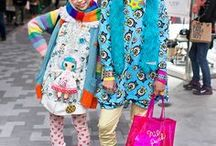 Harajuka style / Street styles for women and men from Harajuka, Tokyo, Japan. I've been there, they're for real!