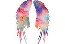 wings/angels