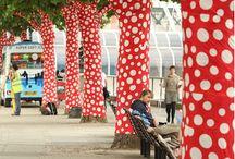 Art garden & yarnbombing
