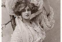 Vintage Victorian, Eduardian until 1940 dresses/lace/gloves/purse/umbrella/chiffon/shoes / by Anna Maria Ligia Desloovere