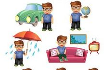 Geek Vector Pack / Geek and proud of it? This vector pack gives you 11 royalty free vector graphics detailing the most common aspects of a geek's life. Each clipart is hand drawn and compatible with all graphic design software programs.