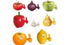 Fruits and Vegetables Packs / Various fruits and #food themed vector illustrations from VectorVice.