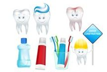 Dentist Vector Pack / Vector pack consisting of 11 dentist vector illustrations from VectorVice.