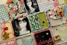 Scrapbook / Nos encanta el scrapbook o scrapbooking, creamos arte con recuerdos, collage con todos los materiales que queramos para hacer algo único.