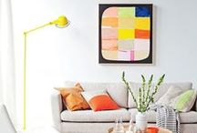 Home // Live Colorfully / Celebrating pops of color placed perfectly in every room of the home.