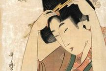 ART ...Japanese Fine Arts / Japanese Fine Arts: - Ukiyo-e,  - sumi-e, - Hanging Scroll Painting, -