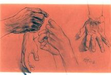 Drawing Tutorials - Human Hands Study / Drawing Tutorials - Human Hands Study