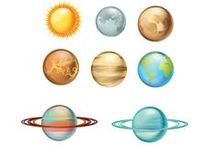 Planets Vector Pack / For your galactic designs you can use one of these vectors: Saturn, Mars, Neptune, Earth, Venus, Mercury, Jupiter, Uranus, and Pluto.