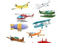 Airplanes Vector Pack / Fly with our selection of airplanes graphic vectors. Our vector pack includes 11 royalty free vector graphics, 100% original and hand drawn. From a regular airplane to an old airplane, water airplane or helicopter, we have a full range of vectors for your designs.