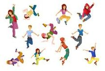 Dancers Vector Pack / Strike a pose and vogue…or breakdance. Our dancers royalty free vector pack includes a full range of modern dance poses in 11 clipart files ready to use in your designs and fully scalable for any size you may need. Each vector file is carefully hand drawn, highly detailed and compatible with all graphic design software programs.  The pack includes 11 .EPS vector items.
