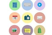 Flat Icons Vector Pack / User interface icons were never outstanding….until we designed them. We packed 11 great looking, highly detailed vector files for you to use in your presentations and mock-ups. Each vector file is hand drawn, original and royalty free. The clipart files are ready to use and compatible with all graphic design software programs. - See more at: http://www.vectorvice.com/icons-vector-21#sthash.3wCcVhDB.dpuf