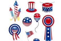 4th of July / Happy 4th of July! It's time to celebrate with your designs, including some special vectors. 4th July Vector Pack includes 11 high detailed icons ready to be used in your designs. The vectors are royalty free, 100% original and hand drawn.