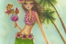 Hawaian party / by Anna Maria Ligia Desloovere