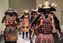 Japanese Fighting Arts - The Samurai: wears and fighting gear / Samurai wears and fighting gear