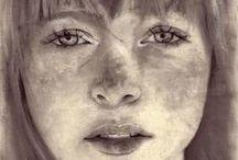 ART: Amazing Portraits / Portrait draws & paints