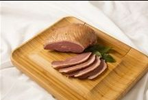 Smoked Goose Products / Unlike a traditional Roast Goose, our Smoked Goose products are smoked in real hickory chips to bring out a smooth and refined smokey flavor.  Any of the products will add an unexpected and delicious element to your dinner or event.