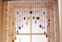 Beading for Home & Garden / Beading projects beyond jewelry - liven up your home and garden with beaded wind chimes and more.
