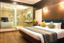 Luxury Hotel Rooms / This board contains images of luxury rooms of shenbaga hotel and convention centre, pondicherry