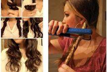 frisurer til langt hår