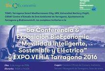 """2º Ciclo Conferencias BioEconomic® 2015 - 2016 """"Smart City Tarragona 2017"""" / En el marco del 2º Ciclo de Conferencias BioEconomic® """"Smart City Tarragona 2017"""" queremos dar a conocer las soluciones y beneficios de la Eficiencia Energética en el Turismo, Campings y Hoteles. También sobre la Movilidad Inteligente y Sostenible www.bioeconomic.es"""