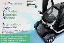 Expo VEHiA Tarragona 2016 / Exposición y pruebas Vehículo Eléctrico, Híbrido y Alternativo BioEconomic www.bioeconomic.es