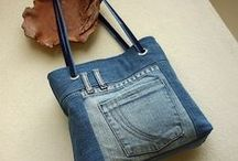 Recyclen: Restjes stof, lint of gebruikte kleding / by Nina