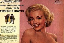 1950s Beauty Ads / When women wanted to feel like film stars...guess we still do, really