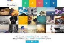 Webdesign inspiration / Cool layouts og grafisk genialitet