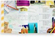 Grafisk inspiration / Forskellige inspirerende designs