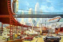 """Hier..!, Ville et architecture de demain..?!! / Hier ..!, quelle vie demain ..?  quelle ville et architecture pour demain ? """"Vintage..""""  pour aujourd'hui..?"""