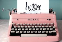 ~ writing ~ / Tips & Inspiration / by Abigail Mewbourne