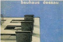 """Bauhaus / """" Par extension, Bauhaus désigne un courant artistique concernant, notamment, l'architecture et le design, mais également la photographie, le costume et la danse. Ce mouvement posera les bases de la réflexion sur l'architecture moderne, et notamment du style international.../..."""" http://fr.wikipedia.org/wiki/Bauhaus"""