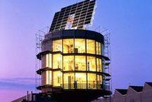 """Maisons passives-Habitat zéro énergie-constructions LEED-habitat sain / """" L'habitat passif est une notion désignant un bâtiment dont la consommation énergétique au m² est très basse, voire entièrement compensée par les apports solaires ou par les calories émises par les apports internes . Pour être qualifiée de « passive » une maison doit réduire d'environ 80 % ses dépenses d'énergie de chauffage ../.... On parle alors de bâtiment à énergie passive ou BEPAS, pendant du « bâtiment à énergie positive » ou « BEPOS ».../... http://fr.wikipedia.org/wiki/Habitat_passif"""