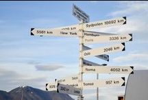 Travel Signs / Señales, carteles, posters, todos los indicios más o menos claros de que debes ponerte en marcha // Signage, posters, boards, all the signs that tell you that you should start moving