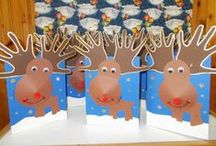 winter-christmas crafts / ideas for preschool activities