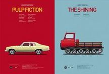 Posters / Posters, Poster Design, Minimalistic Posters, Movie Posters.