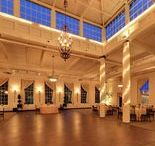 Great Room at Historic Savage Mill / Vaulted ceilings, fourteen-feet-high windows, sky lights, and a large dance floor makes the Great Room perfect for any type of event.  http://www.greatroomsavagemill.com/
