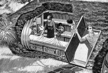 """Survivalisme, abris anti-atomiques & climatiques... / """" Le survivalisme est un terme qui désigne les activités ou le mode de vie de certains groupes ou individus qui veulent se préparer à une hypothétique catastrophe locale ou plus globale dans le futur, une interruption de la continuité sociétale ou civilisationnelle au niveau local, régional, national ou mondial, voire plus simplement à survivre face aux dangers de la nature. .../...""""http://fr.wikipedia.org/wiki/Survivalisme"""