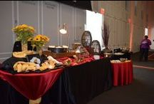 Samuel Riggs IV Alumni Center / Beautiful social, corporate, and wedding events catering.