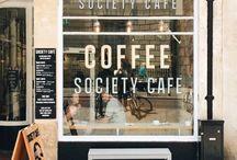 Cafe + shop