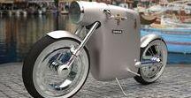 Design motos électriques & side-cars / Design electric motorcycles & side-cars