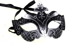 Black Mardi Gras masks for Masquerade  / Black Mardi Gras masks for Masquerade. Beautiful lace and patterned masks and bendable metal laser cut masks. Perfect for Masquerade Balls, Mardi Gras parties, New Years Eve and Halloween.