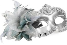 Silver Mardi Gras masks for Masquerade  / Silver Mardi Gras masks for Masquerade. Beautiful lace and patterned masks and bendable metal laser cut masks. Perfect for Masquerade Balls, Mardi Gras parties, New Years Eve and Halloween.