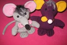 torunlarimiza oyuncaklar / El örgüsü oyuncaklar, el işleri, el becerileri